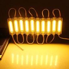 20PCS LED Module Light 2W IP65 Waterproof DC12V LED COB Module Commercial Lighting Advertising Lamp LED Background Light White F