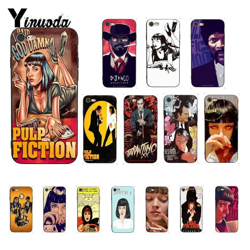 Pulp Fiction Luxury Unique Design <font><b>PhoneCase</b></font> for <font><b>iPhone</b></font> 6S 6plus 7 <font><b>7plus</b></font> 8 8Plus X Xs MAX 5 5S XR <font><b>iPhone</b></font> 11pro MAX image