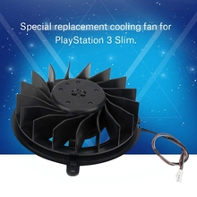 Replacement Cooling Fan 17 Blades Replacement Internal Cooling Fan Cooler for Sony Playstation 3 Ps3 Slim