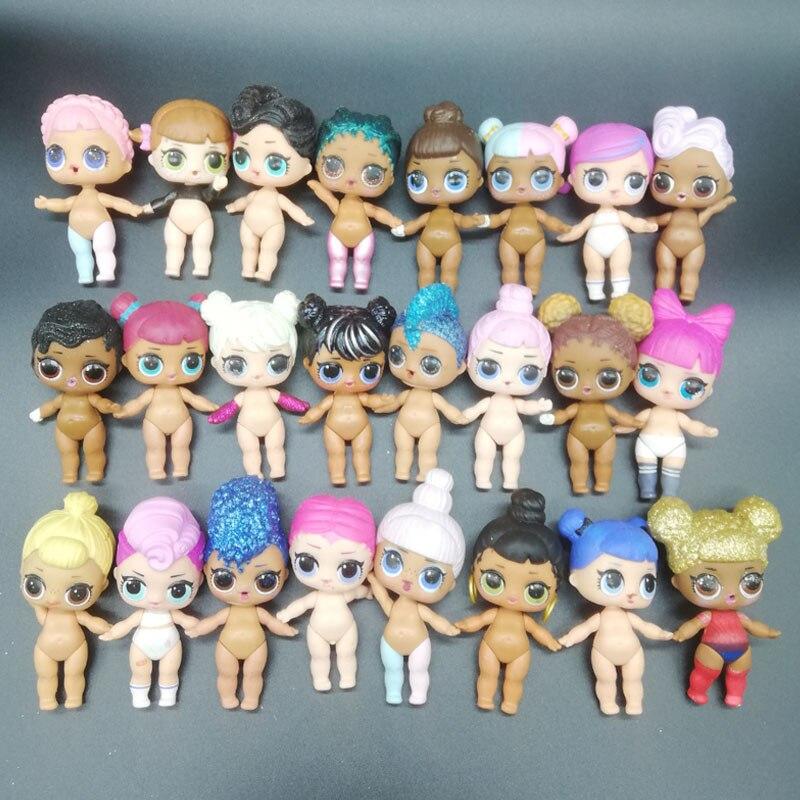 L.o.l surpresa boneca figura original brinquedo jogo anime estatueta bonecas genuínas bonito menina presentes de aniversário quarto decoração ornamentos