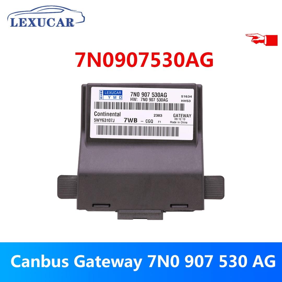 Lexucar Canbus Gateway 7N0907530AG pour VW Jetta 5 MK5 Golf 5 6 MK6 Octavia Touran 7N0 907 530 AG