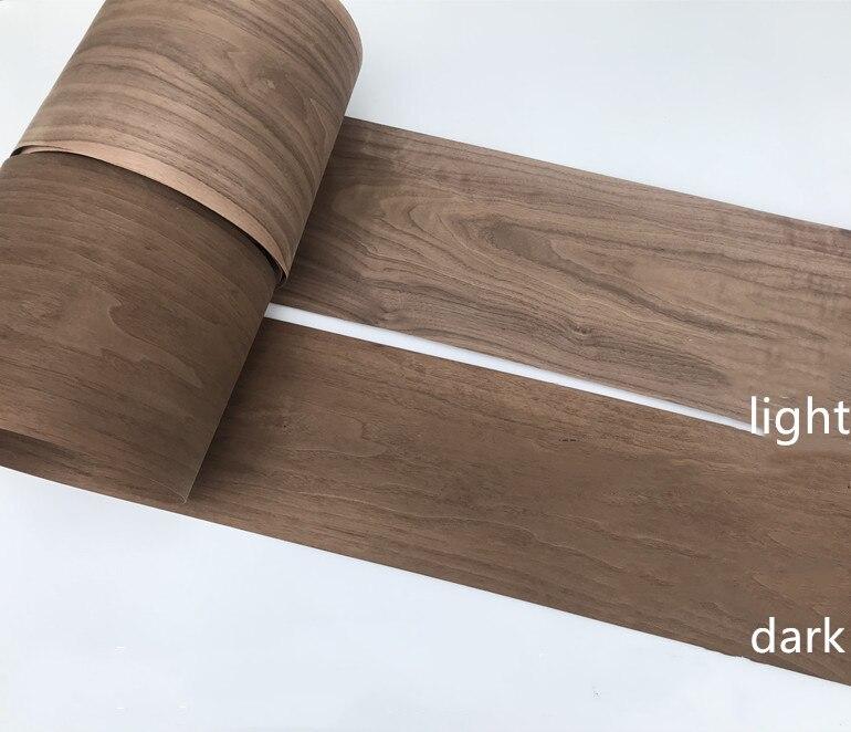Image 5 - 2x Natural Genuine Wood Veneer Sliced Veneer for Furniture Walnut C/CFurniture Accessories   -