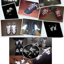 Shoelaces Sports-Shoes Reflective Running Night Tide Double-Sided Hot-Selling Wholesale