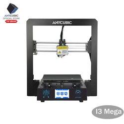 ANYCUBIC I3 Мега 3D принтер полностью металлический плюс размер настольная рамка 3,5 дюймов TFT экран Impresora 3D Drucker DIY Набор гаджет экструдер