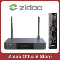 Zidoo-media player z9x, 4k, hdr10 +, android 9.0, caixa de tv inteligente, visão dobrável, 2g, ddr4, 16g, emmc, set top box, hdr, 12bit