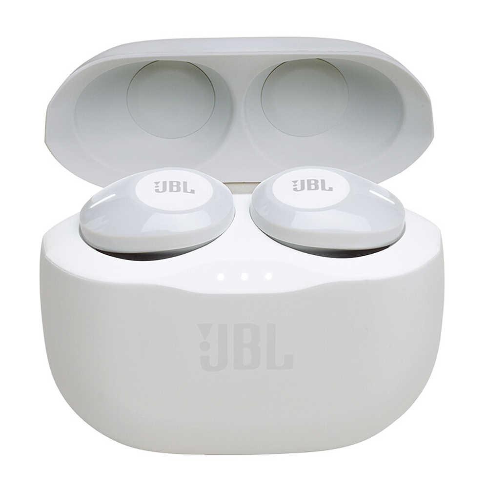 Oryginalny JBL T120 bezprzewodowy bluetooth TWS True słuchawki dostroić 120TWS słuchawki stereo dźwięk gitara basowa słuchawki zestaw słuchawkowy mikrofonem