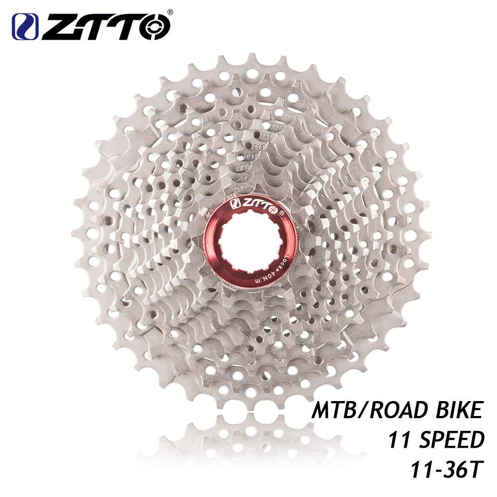 2019 <font><b>11</b></font> Speed <font><b>11</b></font>- <font><b>36T</b></font> Freewheel 11s Cassette Sprocket for UT DA K7 GX RIVAL1 Force1 1X system CX Road Bike MTB Bicycle image