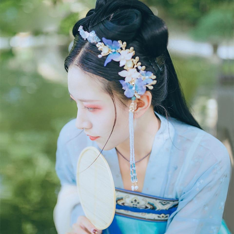 Cabelo Cos Estilo Chinês Mulheres Headwear