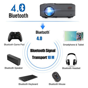 Image 5 - Caiwei C180 Smart Mini Projectorhd  Mobile TV Android Small Beamer Projector In Home Theater Projectors Video outdoor Projectors