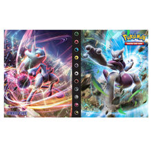 Pokemon Game Cards Album Book 240Pcs Anime Card Collectors Holder Loaded List Capacity Binder Folder Pokemons Toys for gifts Kid