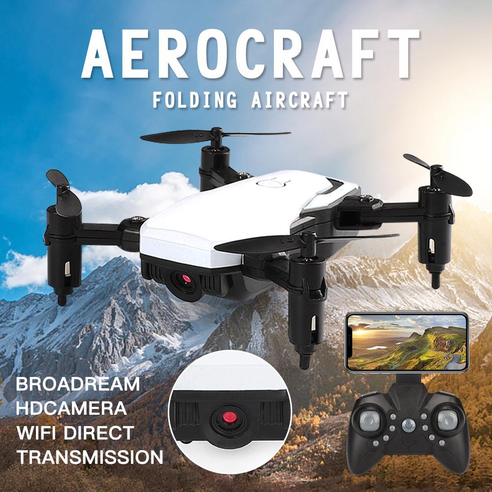 cheapest GloryStar LF606 Mini Drone with Camera Altitude Hold RC Drones with Camera HD Wifi FPV Quadcopter Dron RC Helicopter