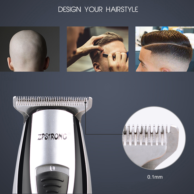 Image 4 - 110 240V Hair Trimmer professional corded Hair Clipper for barber shop hair beard trimmer shaver hair cutting machine-in Hair Trimmers from Home Appliances