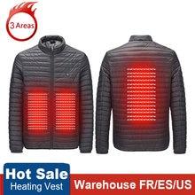 НОВЫЕ куртки с подогревом тепловое пальто usb электрическая