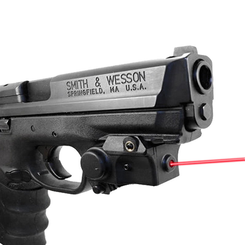 Compact Self Defense Weapon Gun Laser Green Red Dot Laser Sight 5mw Green Laser Pointer Light Weight For Pistol Hunting Pistola
