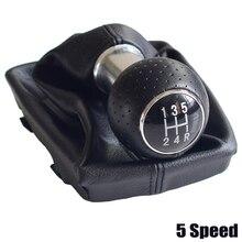 Schwarz rote linie 5/6 Geschwindigkeit Auto Shift Schaltknauf Hebel Gaitor Boot Abdeckung für Audi AUDI A4 B6 B7 2002 2008