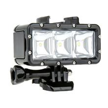 For Dji GoPro Underwater Light Diving waterproof LED light For GoProHero 7 5 6 4 Session Xiaoyi 4k Osmo Action Accessories(China)