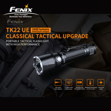 Classical Tactical Upgrade Fenix TK22 UE 1600 Lumens Portable Tactical Flashlight with 5000mAh Li-ion Battery(China)