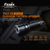 Klassische Taktische Upgrade Fenix TK22 UE 1600 Lumen Tragbare Taktische Taschenlampe mit 5000mAh Li-Ion Batterie