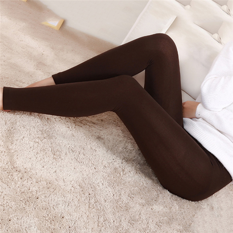 Warm Plus Thin Velvet Thicken Women's Leggings High Elastic Waist Warm Pants Cashmere Leggins Trousers Femme High Quality