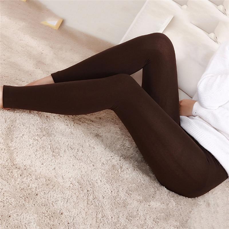 Warm Plus Thin Velvet Thicken Women's   Leggings   High Elastic Waist Warm Pants Cashmere Leggins Trousers Femme High Quality