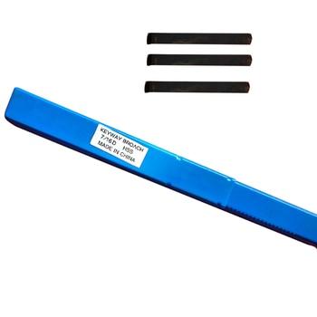 7/16 D Push Type HSS Keyway Broach Inch Size Cutting Tool for CNC Machine
