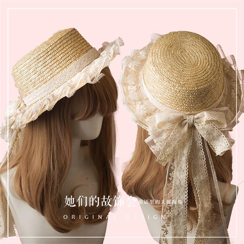 Straw Hat Handmade Cosplay Costume