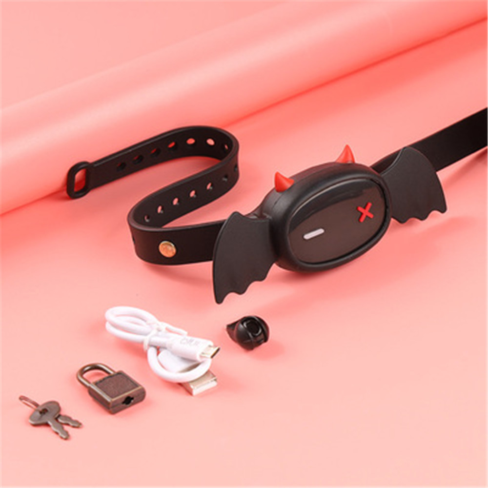2021 the latest electric collar APP control area bondage SM slave collar male and female dog slave alternative sexual products
