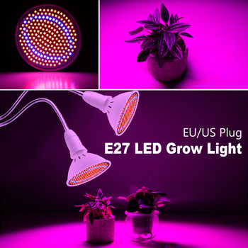 7w 9w 12w 15w 18w 20w 24w phyto lamp full spectrum led grow light e27 plant lamp for greenhouse hydroponic vegetable flower lamp LED Grow Light E27 Full Spectrum LED Grow Light 3W 5W 7W 15W 20W Flexible Clip Power Supply For Flower Plant Grow Indoor Lamp