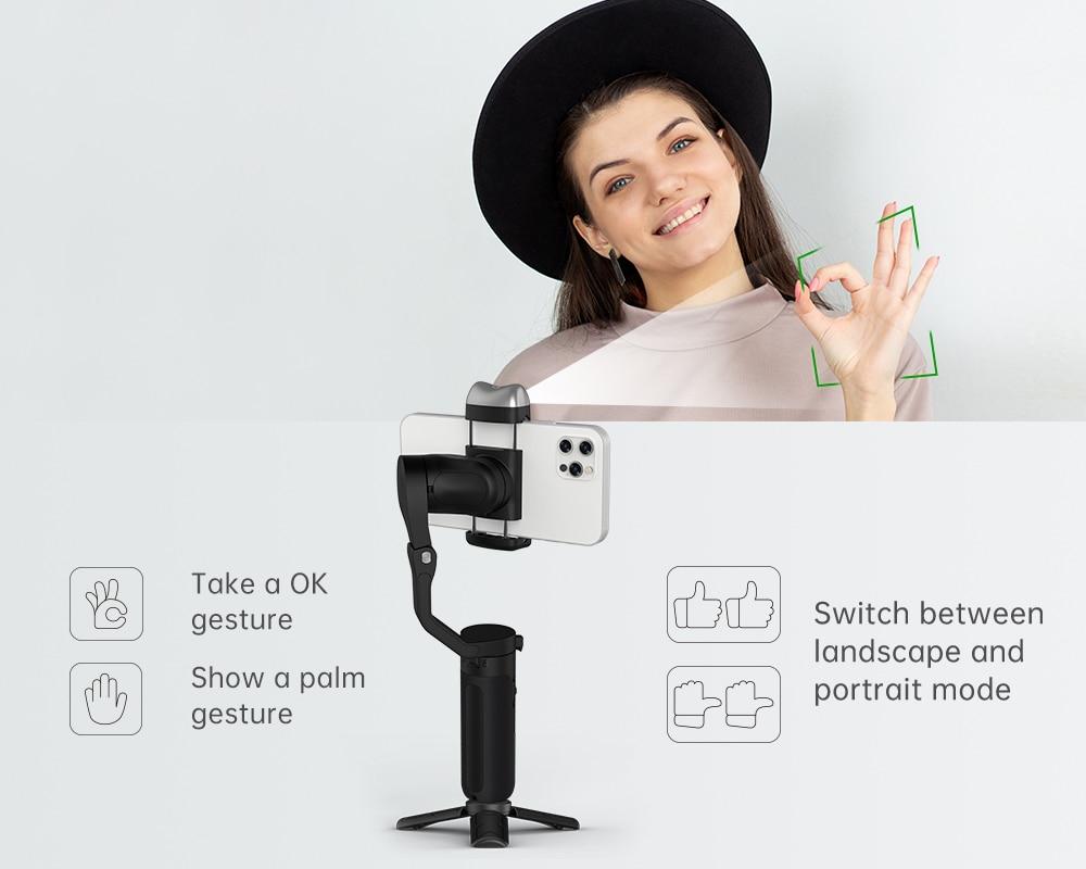 Hohem iSteady V2 AI Smartphone Gimbal 8