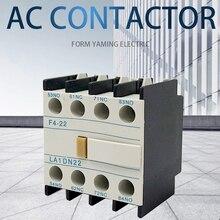 LA1-DN22 F4-22 2NO+ 2NC контактор блок вспомогательный контакт для CJX2 LC1-D контактор переменного тока 4 полюса
