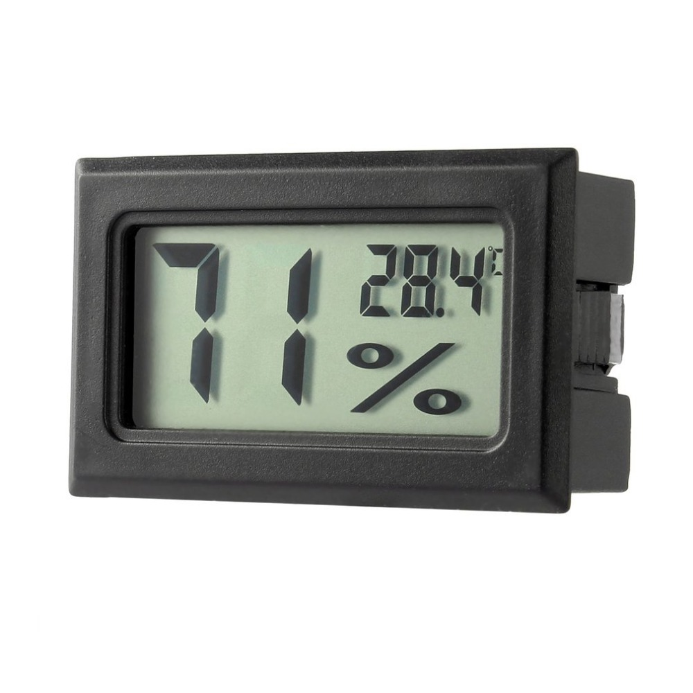 Professional Mini Digital LCD Thermometer Hygrometer Humidity Temperature Meter Indoor Digital LCD Display Sensor Drop shipping