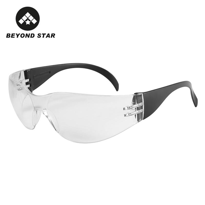 BEYOND STAR Protective Glasses Coronavirus Block Salive Windproof Glasses Safety Goggles Dust-Proof Transparent Eyeglasses