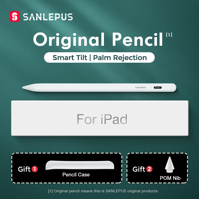 SANLEPUS Stylus Drawing Touch Pen For Apple Pencil 2 iPad Pro 11 12 9 2020 2018 2019 6th 7th mini 5 Air 3 With Palm Rejection