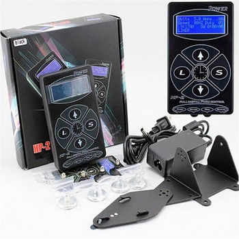 HP-2 Tattoo Power Supply Professional Digital Dual LCD Display For Tattoo Machines Gun Power Supplies Set Source Tools - DISCOUNT ITEM  31% OFF All Category