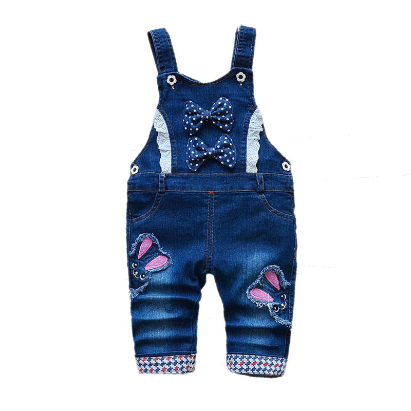 baby boys pants infant overalls 1-3 years baby girls clothes boy spring/autumn jeans kids animal jumpsuit cotton denim trousers 6