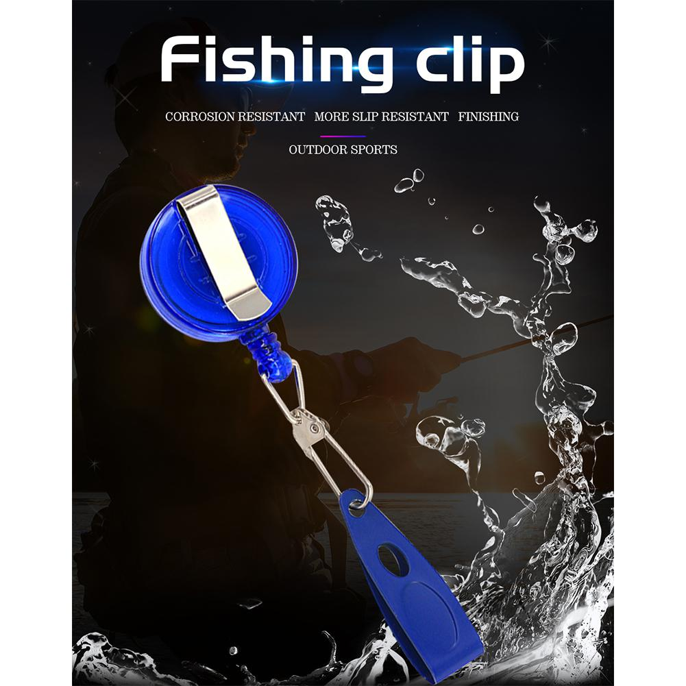 DEUKIO Fast Fishing Line Clip Stainless Steel Clip Fishing Accessary