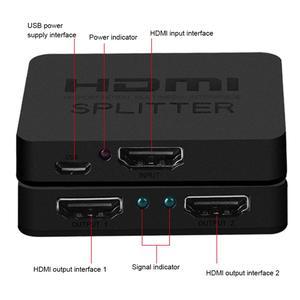 HDMI сплиттер Box Display Port Hub Switcher, переключатель HDMI, переключатель для Ultra HD 1 в 2 выхода, для HDTV, Xbox, аксессуаров