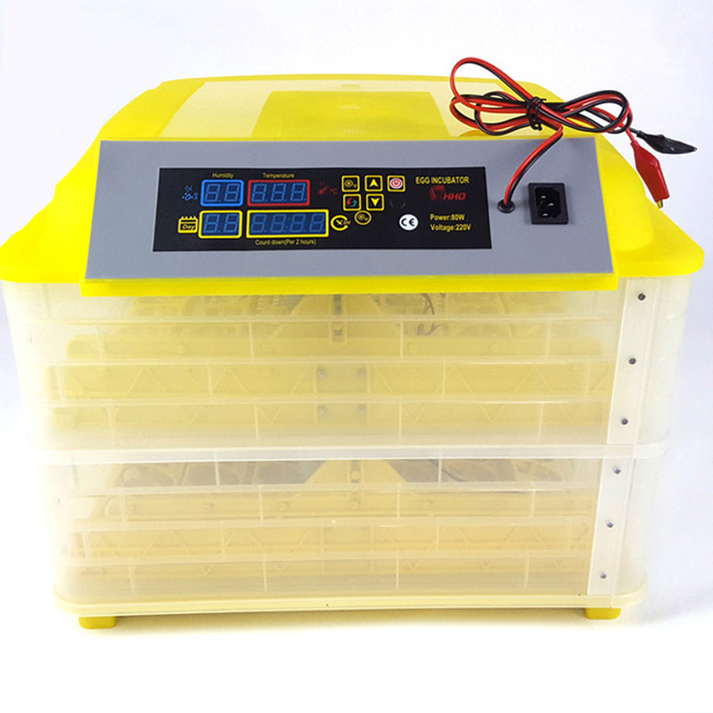 Newest Digital Egg Hatching Incubator With Temperature Alarm/Humidity Alarm For Birds 6