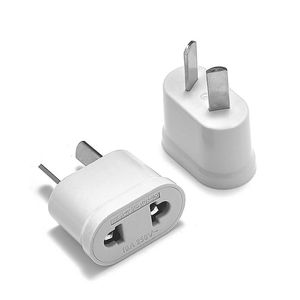 AU Plug Adapter EU US To AU Australia Travel Adapter Electric Power Plug Charger Adapter Sockets AC Converter Outlet