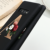 Alphabet Letter Flower Silicone Case For Samsung Galaxy Note 10 Plus 10Plus 9 8 A21S A50 A51 A70 A71 Black Soft TPU Phone Cover