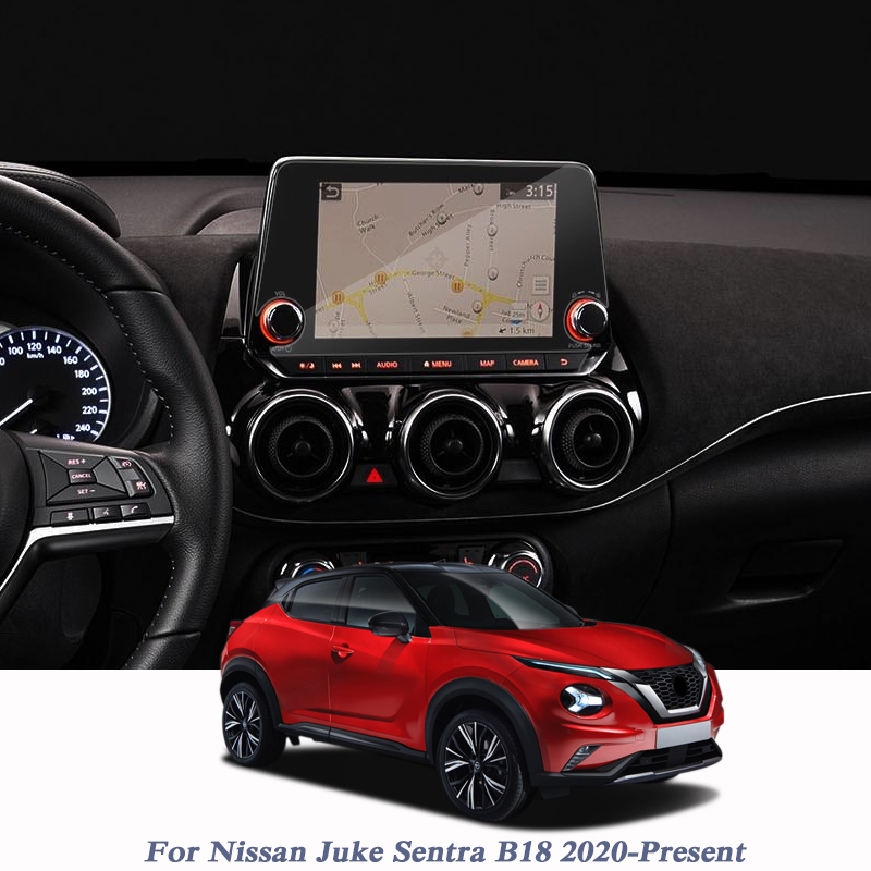 For Nissan Juke Sentra B18 2020-Present Car Styling Film GPS Navigation Screen Glass Protective Film Control Of LCD Screen