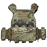 UTA Universal Armoured Lightweight Tactical Plate Carrier Modular Hunting Vest for Outdoor Airsoft