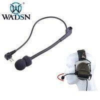 WADSN Tactische Headsets Microfoon Onderdelen Voor Comtac II Ruisonderdrukking Hoofdtelefoon Mike Airsoft Oortelefoon Microfoon Headset Accessoires-in Tactische headsets en toebehoren van sport & Entertainment op