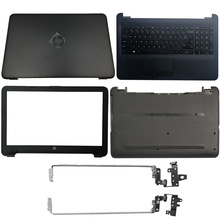 Laptop LCD Back Cover/Front Bezel/LCD Hinges/Palmrest/Bottom Case For HP 15-A 250 255 256 G4 15-AC 15-AF 15-AC121DX 813925-001 free shipping original laptop internal for hp for pavilion 15 af 15 ac 15 ac series 15 ac123cy built in speaker l