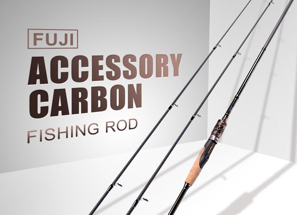 Mavllos carbono vara de pesca de água