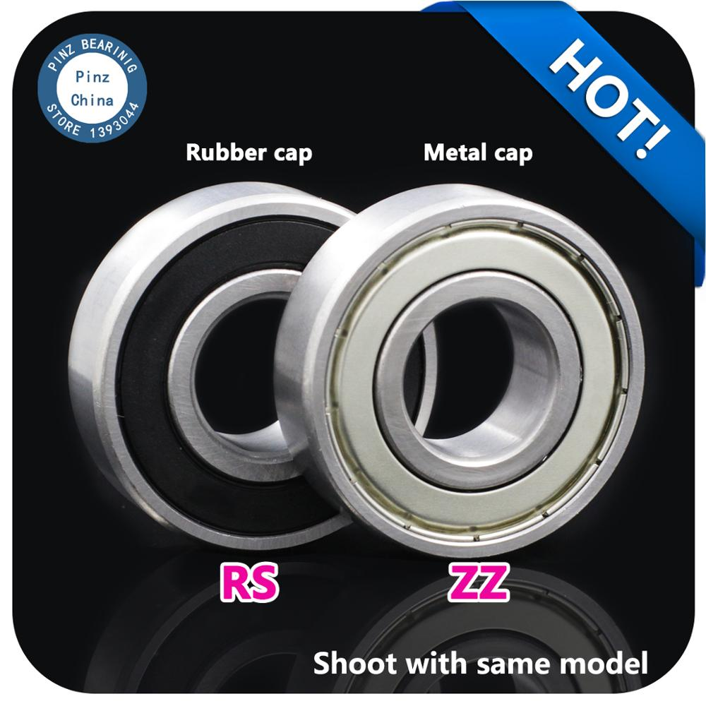 10pcs Ball Bearing 6000-2RS 6000ZZ Rubber Cap/Metal Cap Motor Bearing Deep Groove Ball Bearing Made In China