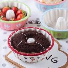 Керамическая миска для выпечки kinglang креативная форма пончиков