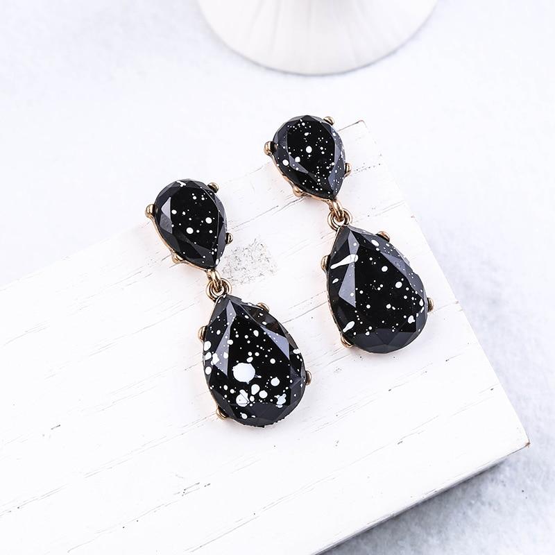 Fashion Bohemia Acrylic Geometric Drop Earring For Women Appointment Date Gift Jewelry Handmade