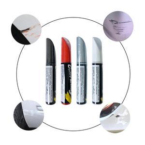 Восстановление покраски автомобиля Ручка Ремонт царапин ручка Профессиональный матовый красный белый серебристый черный краска сенсорна...