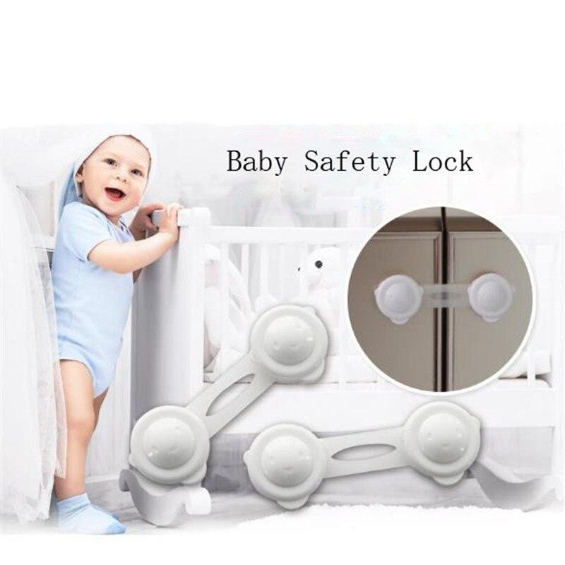 Baby Children Door Drawer Safety Lock Multifunction Cupboard Safety Lock Baby Kids Furniture Locks Security Protect Supplies